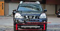 Накладка на бампер Nissan X-Trail 2007-2010