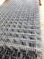 Сетка металлическая сварная с ячейкой 100х100 мм. размер листа 380х2000 мм.