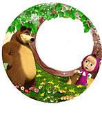 Маша и медведь Вафельная картинка