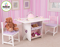 Столик для чаепития с двумя стульями Kidkraft 26913