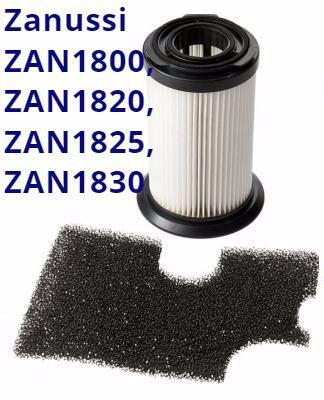 Фильтр Zanussi ZAN1830, ZAN1800, ZAN1825, ZAN1829, ZAN1820, ZAN1831 hepa для пылесосов, фото 1