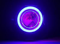 ПУРПУРНЫЕ Дьявольские Глазки для подсветки би-линз / Devil Eyes for Projector Lens (PURPLE)