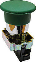 """Кнопка """"грибок маленький"""" без фиксации XB2-BC31 зеленый"""