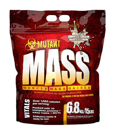 Гейнер PVL Mutant Mass 6,8 кг, фото 2