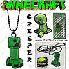 "Подвеска на шею Minecraft - ""Creeper"""