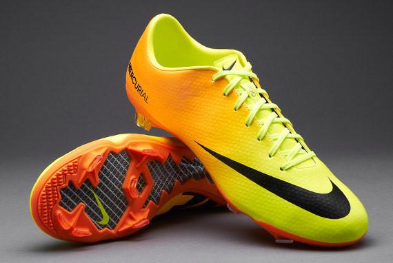 92c90611 Бутсы Nike Mercurial Vapor IX FG 555605-708 Оранжевые, Найк меркуриал  (Оригинал)