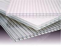 Полікарбонат сотовий (стільниковий) Carboglass прозорий 6000х2100х6 мм / Поликарбонат сотовый Карбогласс.