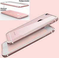 Бампер Evoque Metal+TPU для Apple iPhone 6/6s Rose Gold