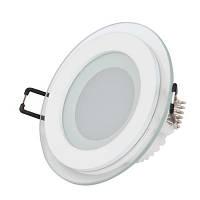 Светодиодный точечный светильник Horoz 6W теплый свет