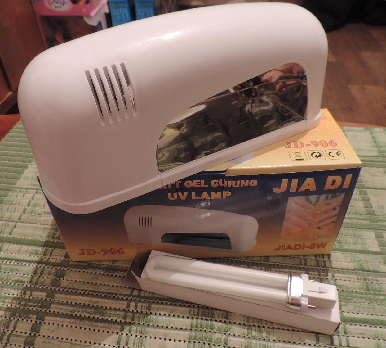 Ультрафиолетовая индукционная лампа 9 Вт для сушки геля.
