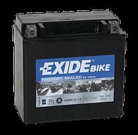 Мото аккумулятор EXIDE AGM 12-12