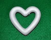 Сердце из пенопласта для декора 10 см 1500-14
