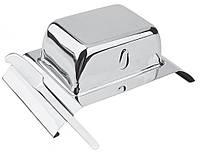 Масленка с ножом 19,3смх12см Combo BergHoff 1107813