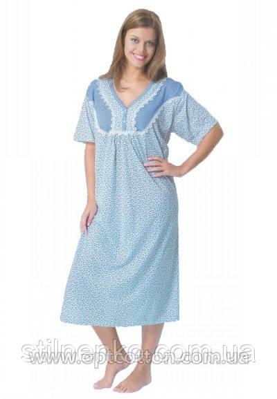 Женская ночная рубашка Sentina (ночнушка) Турция, фото 1
