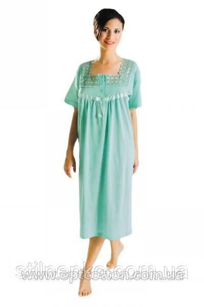 5de02e21b38fd Женская ночная рубашка Sentina (ночнушка) Турция -