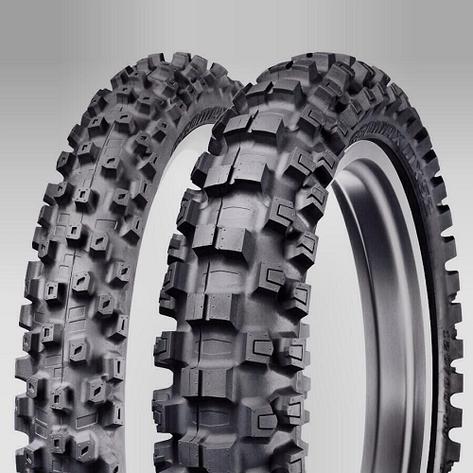 Мотошина Dunlop GEOMAX MX52 100/90-19 57M TT, фото 2