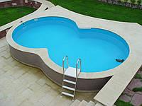 Сборно-каркасный бассейн (в виде восьмерки) Summer Fun 3,60х6,25х1,20 м , фото 1