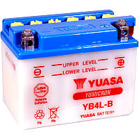 Мото аккумулятор YUASA YB4L-B, фото 1