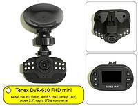 Обзор миниатюрного видеорегистратора Tenex DVR-610 FHD mini