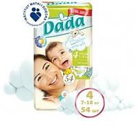 Подгузники Dada Premium Extra Soft Maxi 7-18 кг, 54 шт. (2208820)