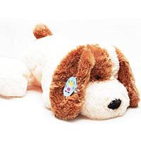 Собака Шарик белый - 50 см