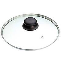 Крышка стеклянная с черной кнопкой 18 см Frabosk Serena 641.02