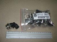 Соединитель аварийный металлический угловой ( наружный резьба) M22x1.5 d-10 трубки ПВХ  02.210.7135.100
