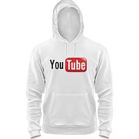 Толстовка  с логотипом YouTube
