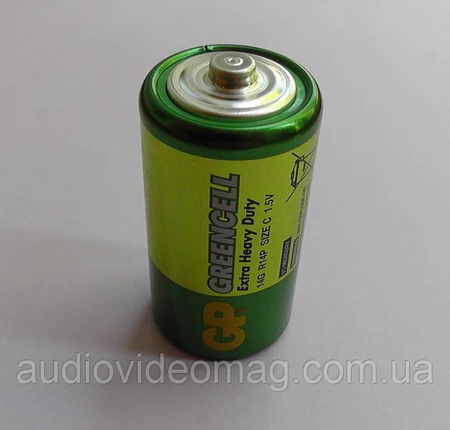 Батарейка GP Greencell R14 (тип С) солевая 1.5V