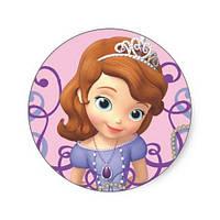 Принцесса София 6 Вафельная картинка