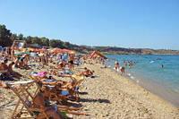 Отдых в крыму пляж Учкуевка