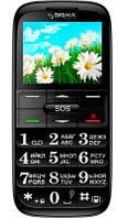 Мобильный телефон Sigma Comfort 50 Slim red-black