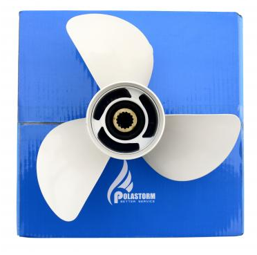 Винт гребной для лодочного мотора Yamaha 20-30 hp 9-7/8x10 1/2-f, фото 2