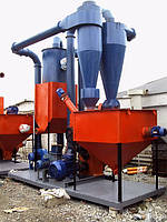 Блок гранулирования на базе пресса ОГМ 0,8 (мощность 69.7 кВт )