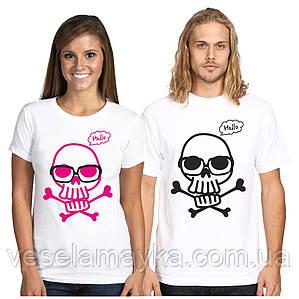 Парная футболка Череп