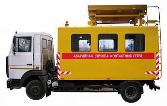АТ-70М-041 машина аварийная на базе МАЗ (длинная база), фото 2