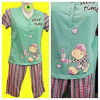 Пижама с капри