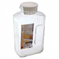 Lum Quadro Кувшин c крышкой для холодных напитков 2,0л, 46538 (159347) /П1