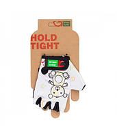 Перчатки Green Cycle NC-2532-2015 Kids без пальцев M белые