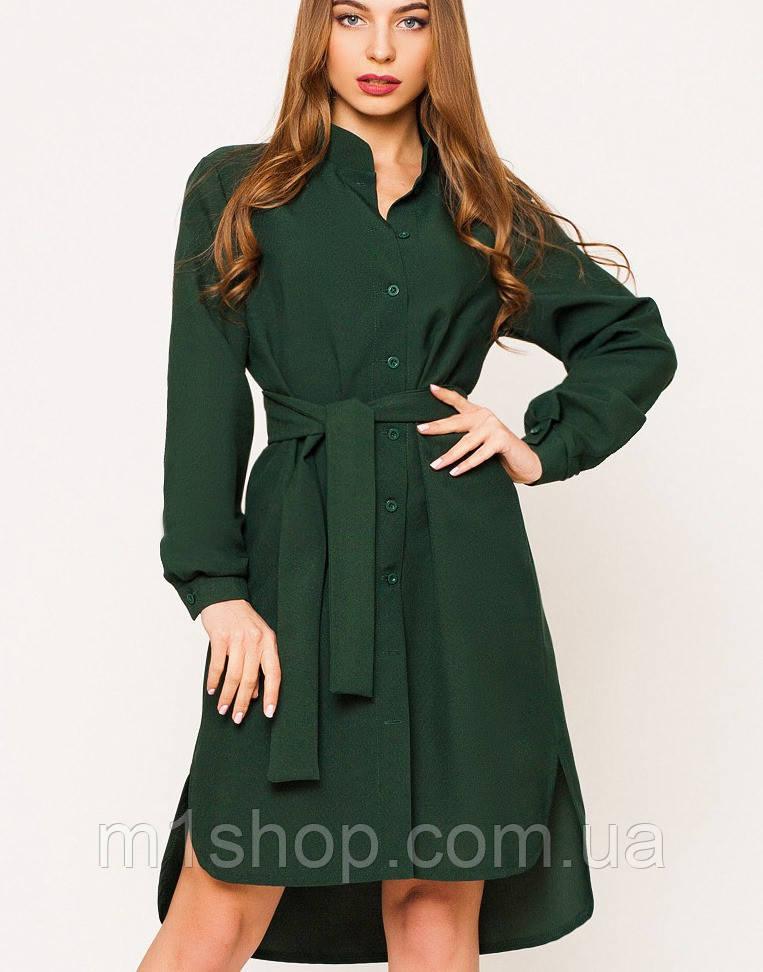 Платье-рубашка | Евгения leo