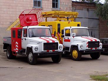 Ремонтые работы оборудования автовышек телескопических ТВГ-15Н, машин аварийных АТ-70М-041