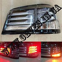 Задние диодные фонари Lexus LX 570 (дымчатые, рестайлинг)