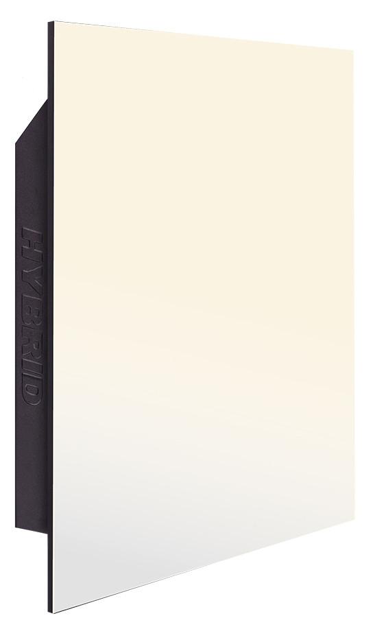 Керамическая инфракрасная панель отопления HYBRID (Гибрид) 375 Вт | цвет белый