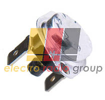Термостат KSD301(KSDA313R)-110V 10А 110*C с кнопкой