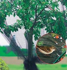 Сетка защитная от птиц BIRD NET 4 х 250 м зеленая.