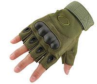 Перчатки тактические безпалые Oakley, фото 1