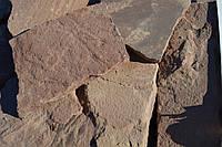 Песчаник красный плоский, фото 1