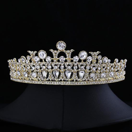 """Діадема (корона) нареченої """"Мозаїка"""" весільні прикраси"""
