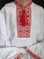 Хлопковые детские рубашки с узором., фото 1