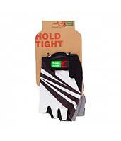 Перчатки Green Cycle NC-2537-2015 Light без пальцев S бело-черные
